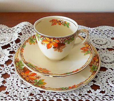 Grindley Alison Trio Cup Saucer And Plate Creampetal England C1930S