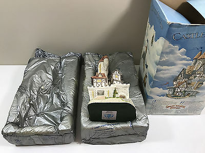 David Winter ~ Castle In The Air ~ Complete With Coa ~ 1991 Vintage