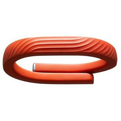 Jawbone UP24 Bluetooth Aktivitäts/Schlaftracker Armband, orange, Gr. L JL01-16L-