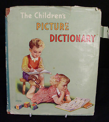 The Children's Picture Dictionary Illustrated By A A Nash (Hardback)   (Mi)