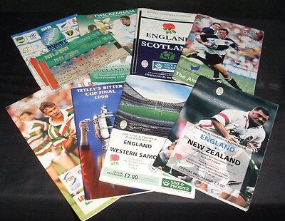 Rugby Memorabilia Tickets Signed Programmes Eng Scot Italy Australia Nz (Ret)