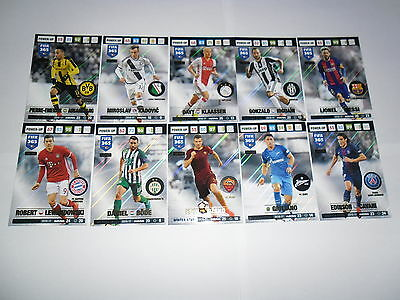 Panini Adrenalyn XL FIFA 365 2016/2017 Update Winter Star cards