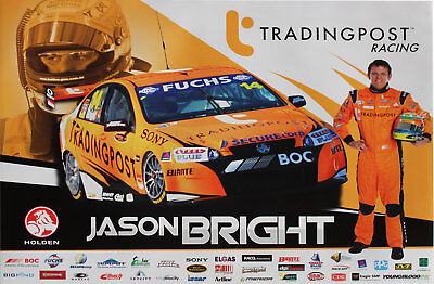 Holden Commodore VE Trading Post Racing Jason bright #14 V8 Supercars Poster