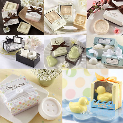 Exquisite Creative Bath Soap Gift Scented Wedding Favors Bridal Party Shower