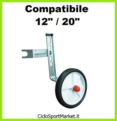 """Stabilizers / Wheels for bicycle BABY with wheel diameter from 12"""" al 20"""""""