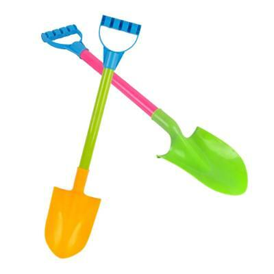 Mini Sand Spade Shovel Tools Beach Water Sandpit Play Kids Toy Pack of 2Pcs