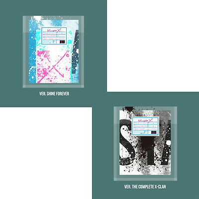 KPOP MONSTA X 1st Repackage [Shine Forever or The Complete X-Clan] CD Album