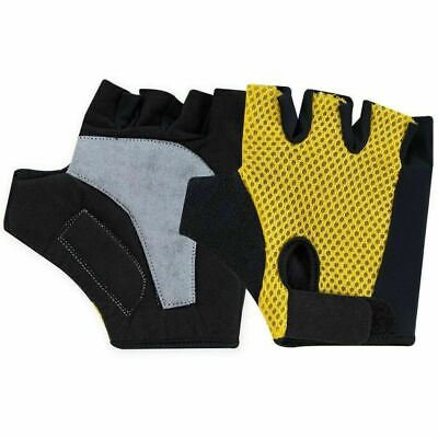 Fitness Body Building Gym Weight Lifting Gel Padded Training Gloves Sports Strap