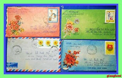 Vietnam Lot of 8 covers # 1