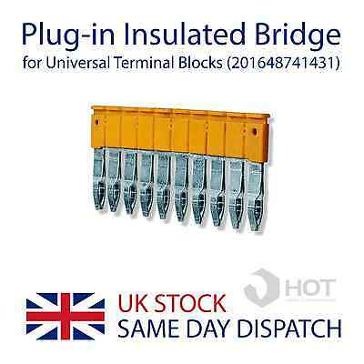 10-Way Insulated Bridge Connector for Universal Terminal Blocks (201959126191)