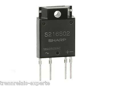 S216S02 Solid State Relay Last-Strom 16A Schaltspannung 250 V/AC