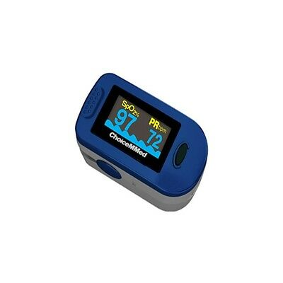 NEW MD300C2 Fingertip Pulse Oximeter SpO2 Sats Monitor + Batteries+ Pouch etc