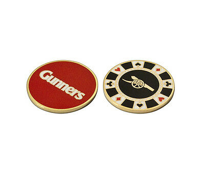 Arsenal Casino Golf Ball Marker - Official Licensed Product