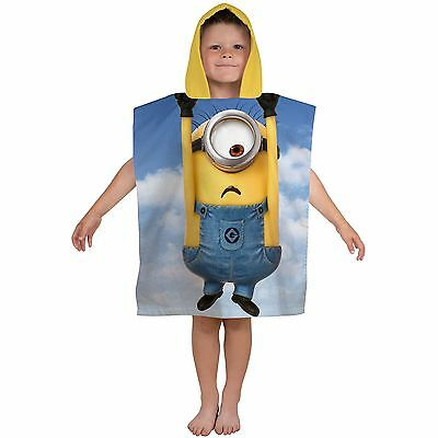 Despicable Me Minions Bello Hooded Poncho Towel