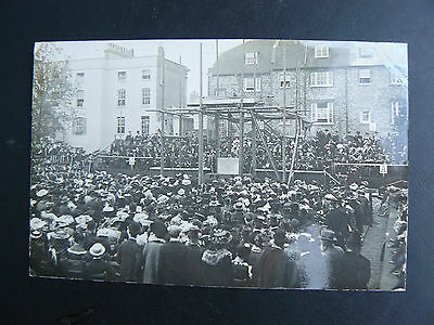 Real Photo RP Postcard - showing possibly a Town Graduation Day - Reading
