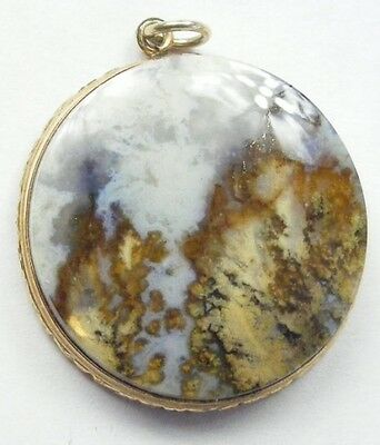 Antique Hardstone Pebble Pendant or Fob