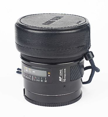 Minolta AF 16mm f2,8 Fish-Eye. TOP!