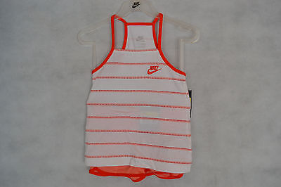 Nike Girls Vest Top And Shorts Set BNWT