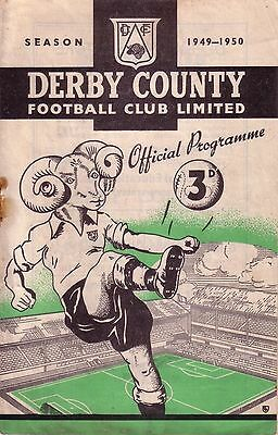DERBY v NORTHAMPTON 1949/50 FA CUP 5TH ROUND