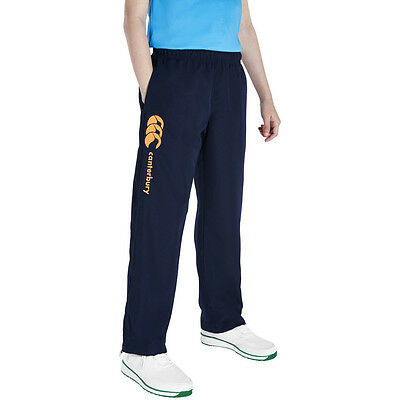 Canterbury Boys Tapered Open Hem Stadium Tracksuit Pants / Bottoms
