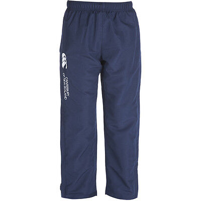 Canterbury Boys CCC Logo Open Hem Stadium Tracksuit Pants / Bottoms
