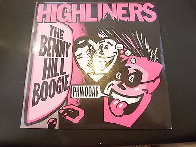 The Highliners:the Benny Hill Boogie / Surfer Jones:psychobilly 45:rzs 115: Ex