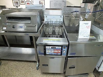 New Electric KFC Style Pitco Fryer with Self-Filtration System