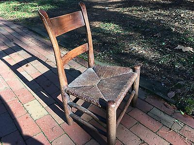 Early American Child Sized Ladderback Chair
