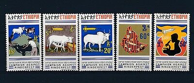 D128783 Campaign Against Rinderpest MNH Ethiopia