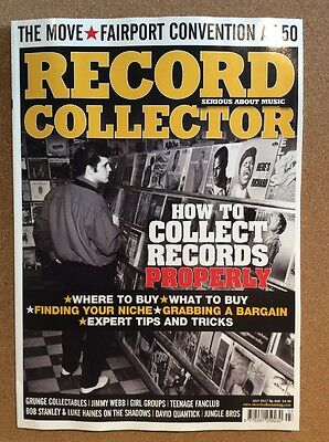RECORD COLLECTOR MAGAZINE - Latest issue - July 2017 - NEW