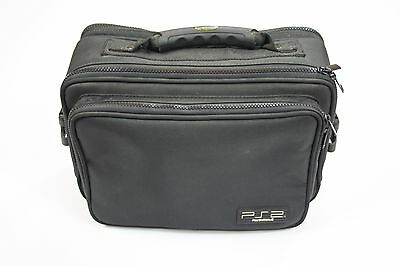 Official Black Ps2 Playstation 2 Carry Storage Holdall Bag Case