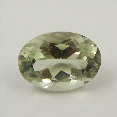 6 cts Natural Green Amethyst Gemstone Must See Loose Cut Faceted P#227-16