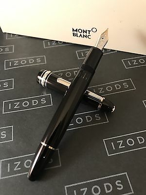 Montblanc Meisterstuck LeGrand 146 Platinum Line Fountain Pen - NEVER INKED