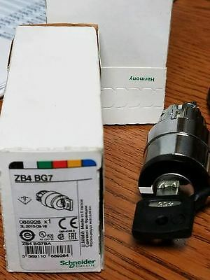 SCHNEIDER ELECTRIC ZB4BG7 Key Operated Selector Switch-NEW