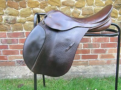 """17"""" Ginny Leng (Barnsby) Saddle In Havanna, Narrow Fit"""