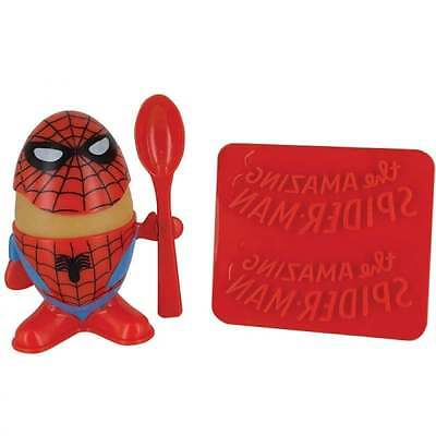 Marvel Marvel Comics Spider-Man Egg Cup and Toast Cutter