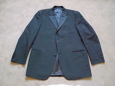 Magee Mens Black Size 44L (112cm) Evening Dinner Jacket