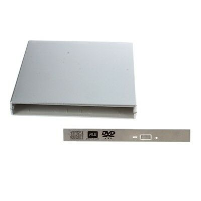 USB 2.0 to IDE External Case Enclosue For Laptop CD DVD Blu Ray Drive RW ROM