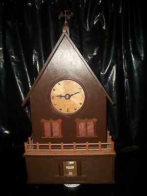 Exclusive Hand Made Artisan Clock - Intricate Detailed Mechanisms  * VERY RARE*