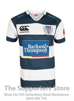 Auckland Rugby ITM Cup 2016 Auckland Home Jersey Sizes S-3XL! New Zealand Rugby!