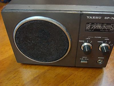 Yaesu external speaker SP-767 for FT-767GX Excellent state and warranty!