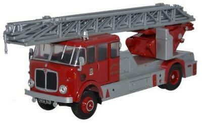 Bnib Oo Gauge Oxford Diecast 1:76 76Am005 Derbyshire Fire Brigade Aec Mercury Tl