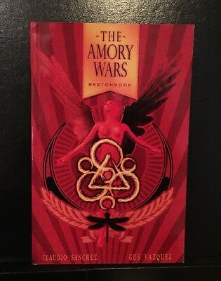Amory Wars SKETCHBOOK - Coheed And Cambria RARE