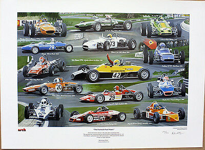 'The Formula Ford Years' Limited Edition Print by Andrew Kitson