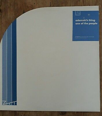 Adamski's Thing, One Of The People,12 Inch Promo Vinyl Single.