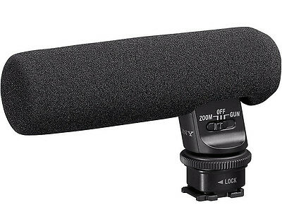 Sony ECM-GZ1M Zoom Microphone for Cameras w/ Multi-Interface Shoe - VG - Read