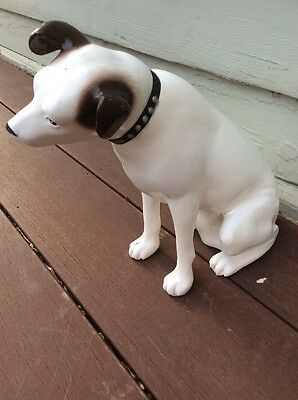 Vintage RCA Victrola Radio Phonograph Nipper Dog Advertising Figure 11""
