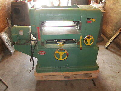 "18"" Powermatic Wood Thickness Planer"