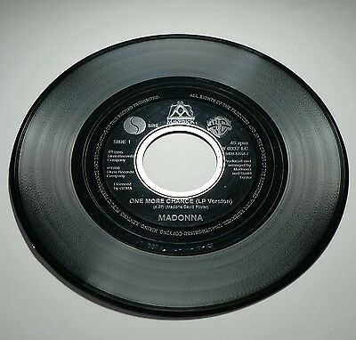 """MADONNA - ONE MORE CHANCE / YOU'LL SEE (SPANISH), 7""""vinyl jukebox 45rpm single"""