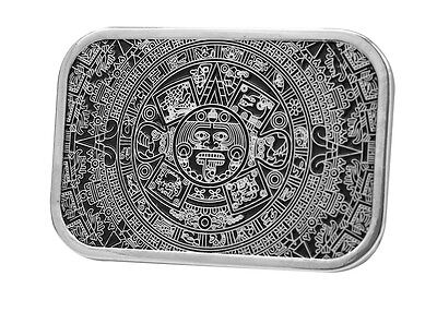 Native American Aztec Calender Belt Buckle Indian